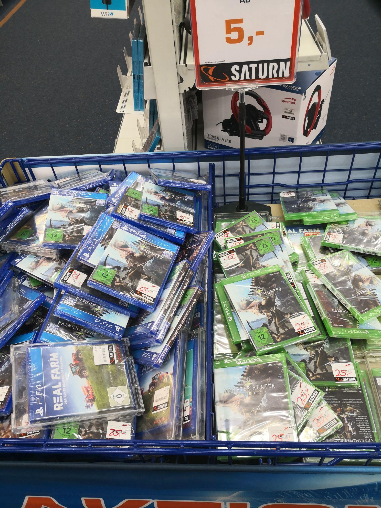 (Lokal - Saturn Stuttgart Schlossplatz) Monster Hunter World (PS4 & XBOX One)