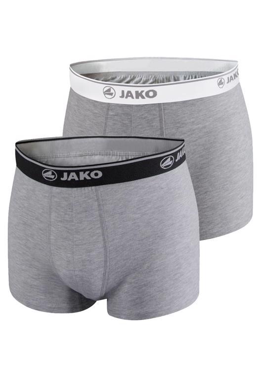JAKO Boxershorts im 2er Pack und 3 Farben (S-XL) - versandkostenfrei