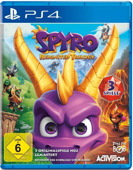 [Masterpass] 15€ Rabatt auf ausgewählte Vorbestellungen, z.B. Spyro: Reignited Trilogy (PS4 oder Xbox One)