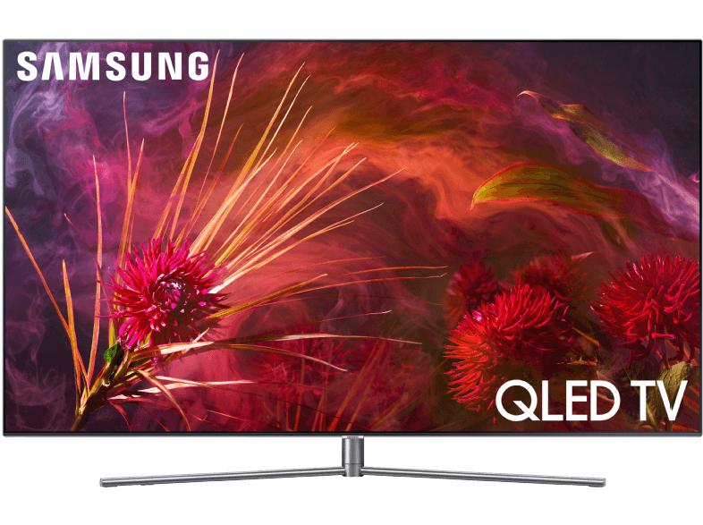 (Media Mark Berlin) SAMSUNG GQ55Q8FNG QLED (Flat, 55 Zoll, UHD 4K, SMART TV, Tizen)