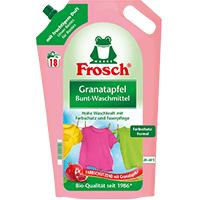 [Müller/Couponplatz] Frosch Granatapfel Bunt-Waschmittel 18WL für 2,25€ [ab 17.09.]