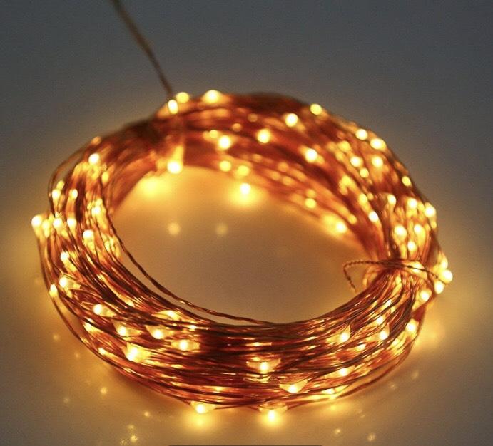 3 Meter Lichterkette mit 30 LEDs (Batteriebetrieben) für 0,89€ [Dresslily]