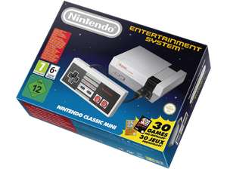 NINTENDO NES Classic Mini 49,00€ inkl. Versand bei Media Markt