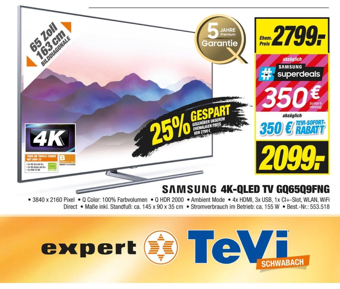 Samsung GQ65Q9 Deutsche Ware inkl. 5 Jahren Garantie