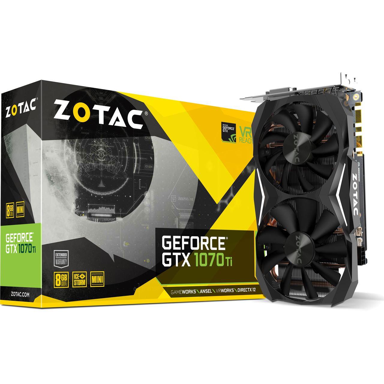 [BEST PREIS] ZOTAC GeForce GTX 1070TI für 375.75€ inklusive Versand bei Hardwarhouse