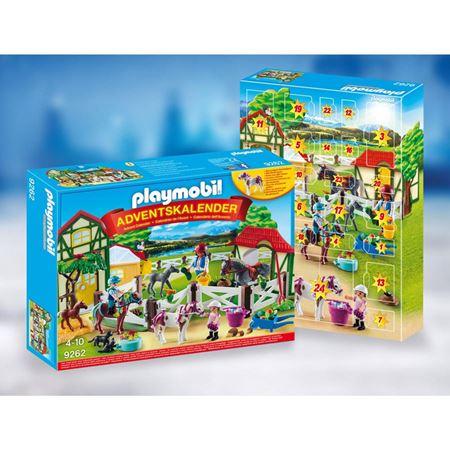 Playmobil Adventskalender z.B. Reiterhof 9262, Wichtelwerkstatt 9264, Spy Team Werkstatt 9263, Playmobil 123 Bauernhof 9009 alle 9,98€ plus VSK