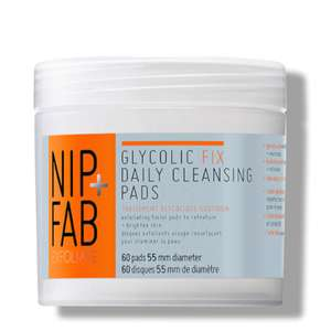 Sale bei lookfantastic, z.B. NIP + FAB Glycolic Fix Daily Cleansing Pads (60 Stk.)