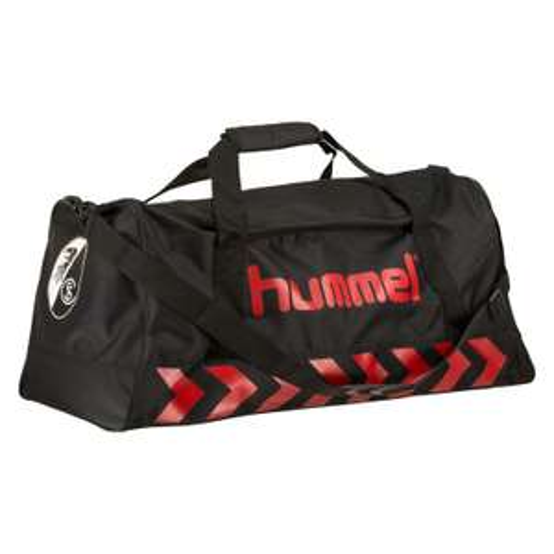 SC Freiburg Authentic Sporttasche von Hummel in schwarz / rot