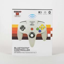 8Bitdo / retro-bit N64 (Nintendo 64) Wireless Bluetooth Controller / Gamepad [netgames.de]
