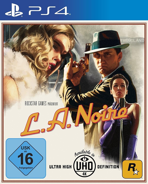 Entertainment Weekend Deals: z.B. L.A. Noire (PS4) für 8€, NBA 2K18 (Xbox One) für 5€ & WWE 2K18 (Switch) für 7€ + Helene Fischer