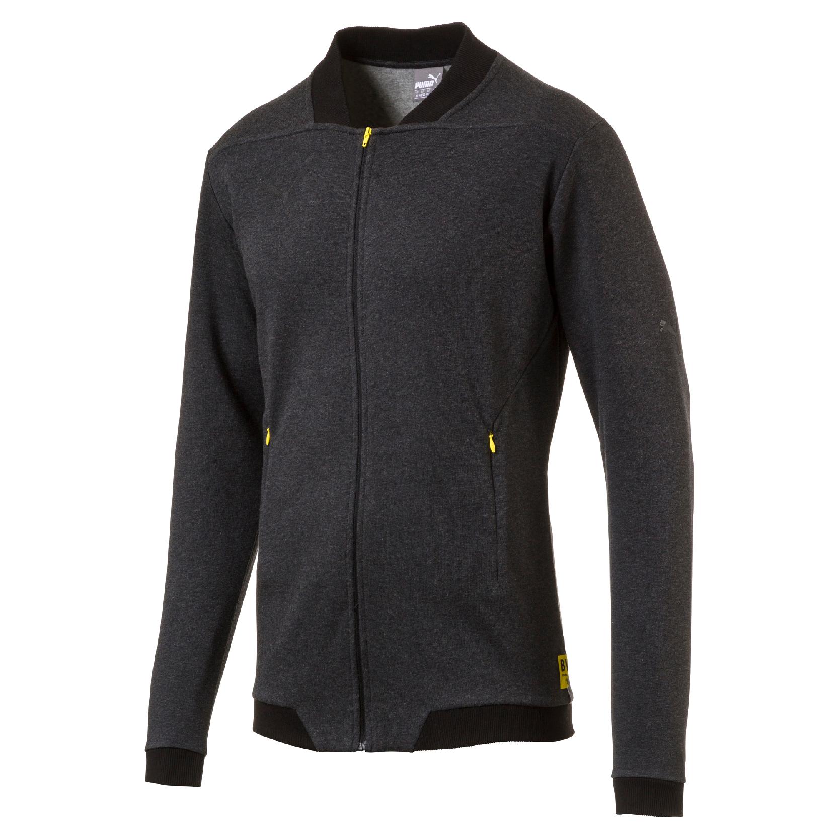 BVB Borussia Dortmund Premium Jacke von Puma in schwarz Gr. S - XXL