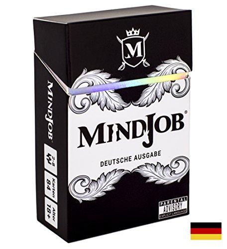 [Amazon Marketplace - Versand von Amazon][Prime] MINDJOB Deutsche Ausgabe - Partyspiel und Trinkspiel für Erwachsene