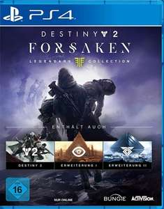 Destiny 2: Forsaken Legendary Collection EU PS4 KEY