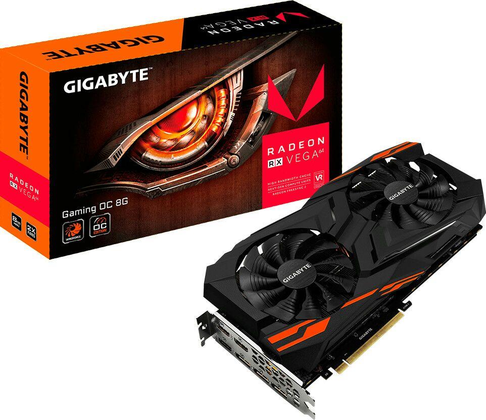 Gigabyte Radeon RX Vega 648GB Grafikkarte (Mindfactory)