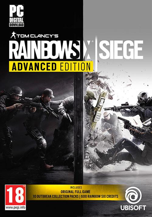 Tom Clancy's Rainbow Six: Siege - Advanced Edition (Uplay) für 19,99€ (Humble Store)