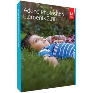 Adobe Photoshop Elements 2018  Download via Rakuten