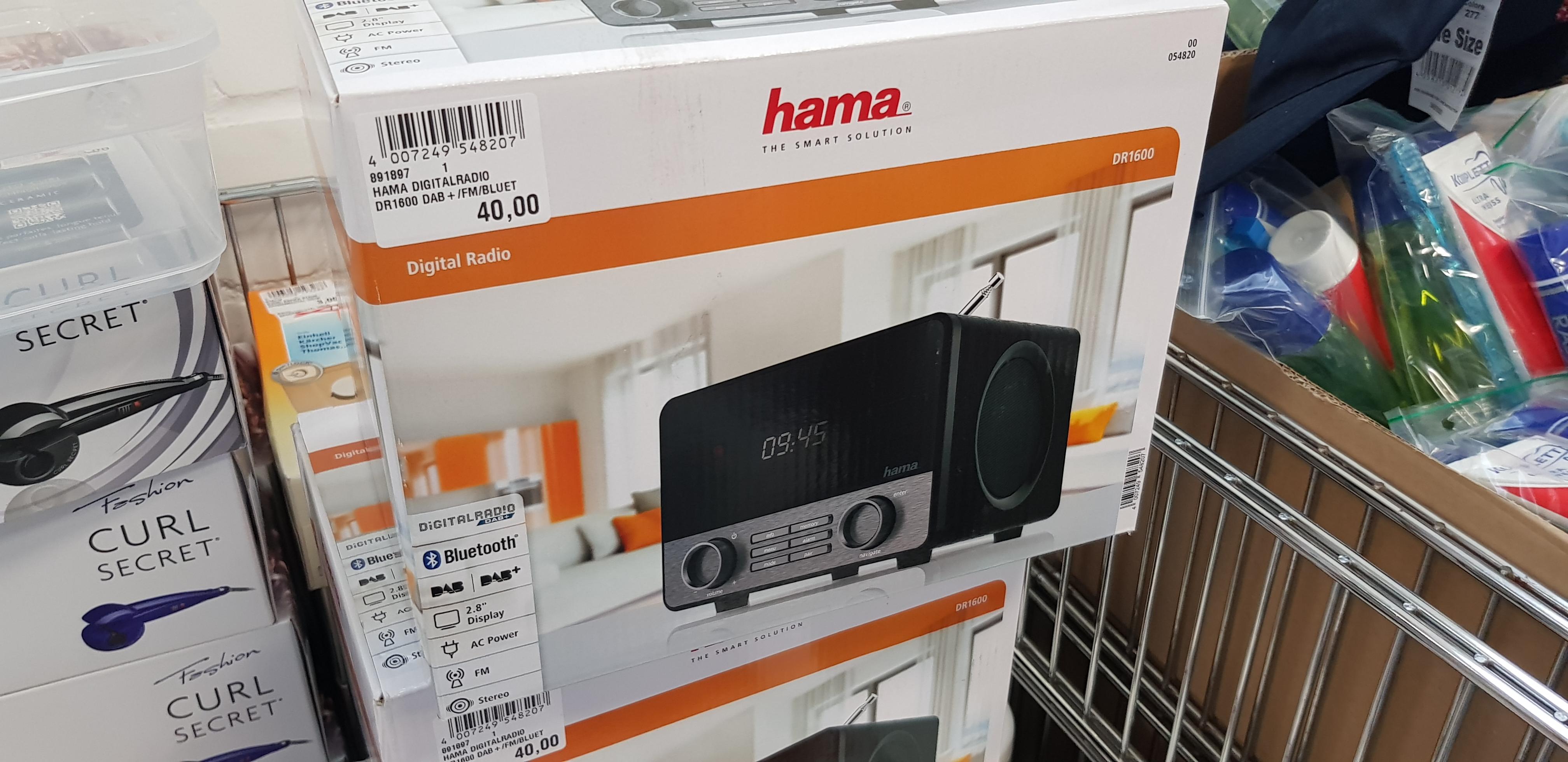 [Lokal Haan] Hama DR1600 dab+ Bluetooth Radio [Restposten Handelshof]