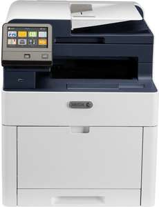 4-in-1-Farblaserdrucker Xerox WorkCentre 6515DNI (28 S/min, 300 Blatt, Duplex, Touchscreen, LAN, WLAN, NFC, AirPrint, Cloud Print)