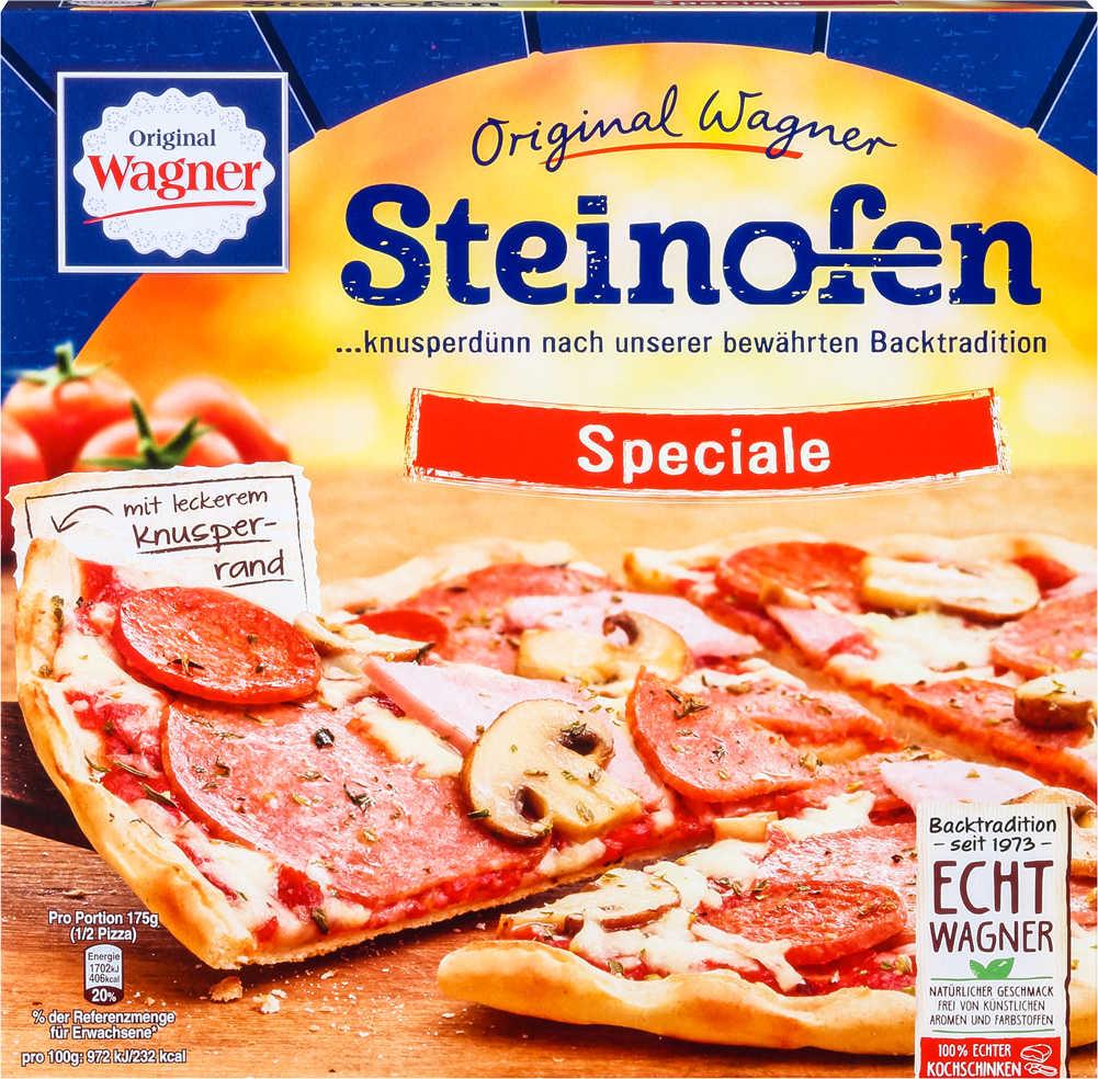 ORIGINAL WAGNER Steinofen-Pizza,  versch. Sorten,  je 320 - 370-g-Packg. für 1,44 Euro [Kaufland}