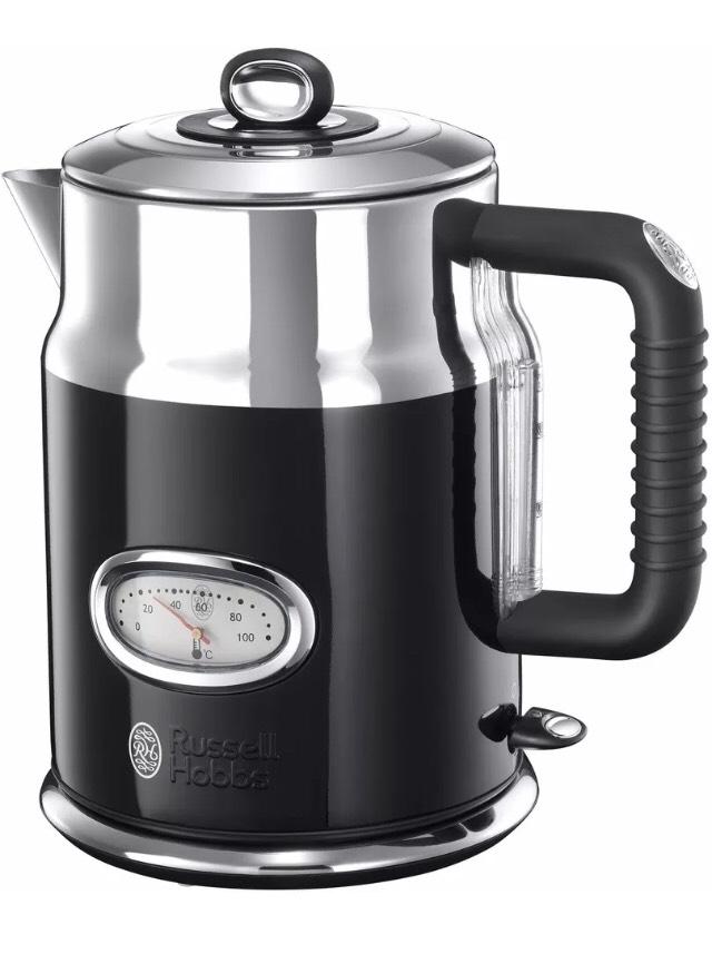 RUSSELL HOBBS 21671-70 Retro Classic Noir Wasserkocher 2400 Watt 1,7 Liter bei eBay
