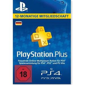 [Ebay bis 20 Uhr] PlayStation PSN Plus 365 Tage 12 Monate 1 Jahr Mitgliedschaft / PSN Guthaben 25-35-40-50 Euro auch 10% günstiger