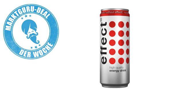 (Marktguru)0,35€ auf Effect Energy Drink, bei Rewe nächste Woche für effektiv 0,31 Euro