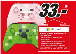 [Lokal MM Essen] Microsoft Xbox Wireless Controller Minecraft Edition