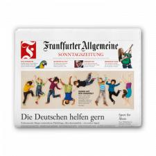 Frankfurter Allgemeine Sonntagszeitung gedruckt – 4 Wochen kostenlos