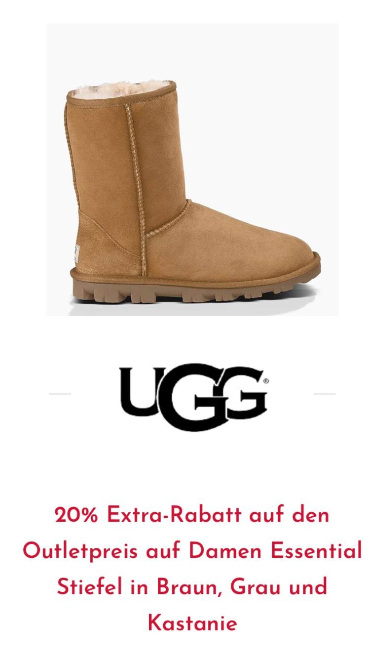 20% Extra-Rabatt auf den Outletpreis(in ROERMOND)auf Damen Essential Stiefel in Braun, Grau und Kastanie