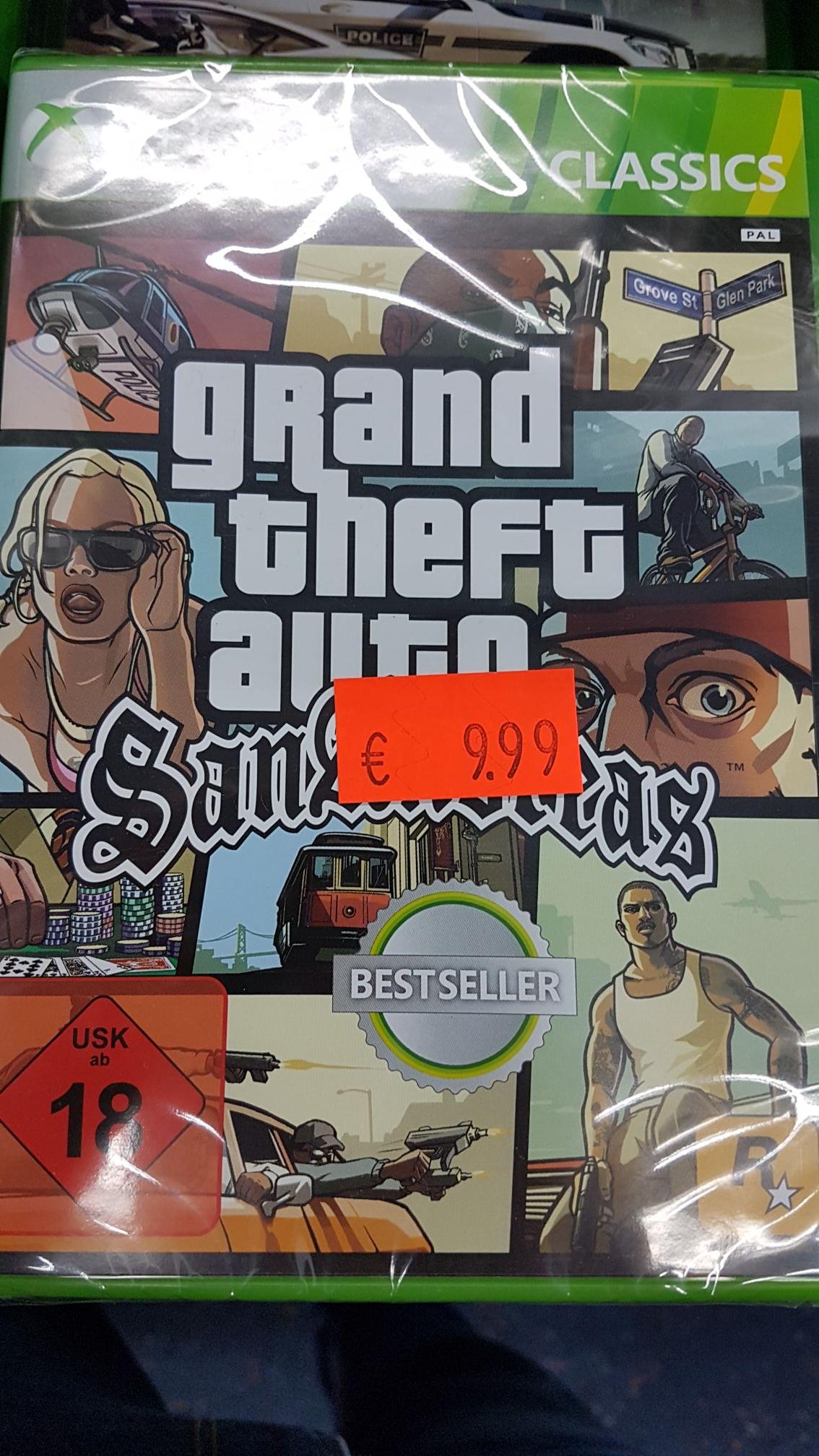 (Lokal Saturn-Hamburg) GTA San Andreas für Xbox360/XboxOne