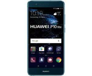 HUAWEI P10 Lite Smartphone (13,2 cm (5,2 Zoll) kapazitiver Touchscreen, 32 GB, Android 7.0) Blau