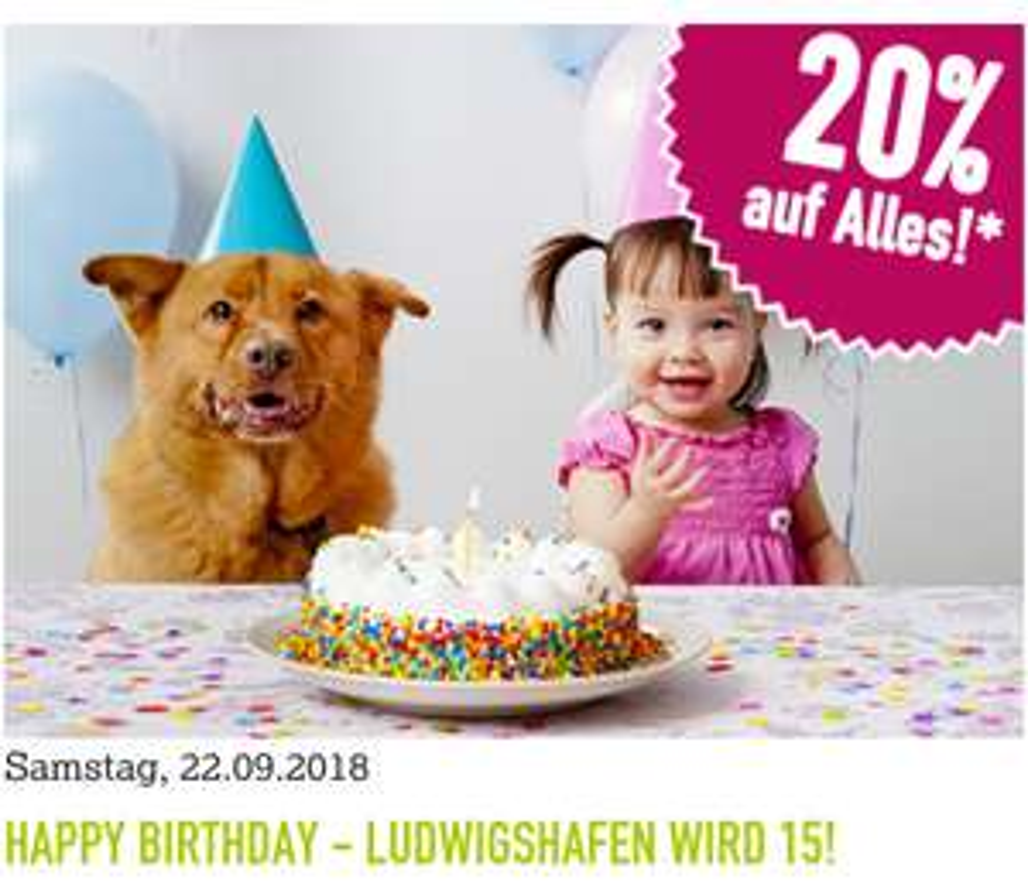 [Lokal Ludwigshafen] Kölle-Zoo 20% auf alles am 22.09.