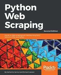 [Packt Publishing] Kostenloses eBook Python Web Scraping - Second Edition