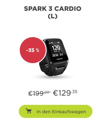 Tomtom Ferienende-Promo: Spark 3 Cardio 129,35€, Go 5200 günstiger