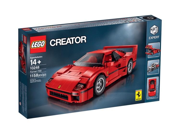 Duo Shop - LEGO 10248 - Ferrari F40