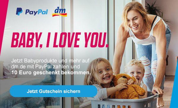DM mit Paypal 10€ Rabatt