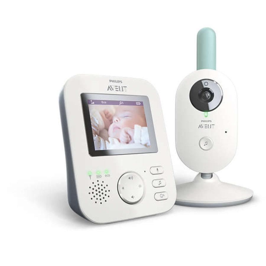 Philips AVENT Video-Babyphone SCD620 2,7 Zoll und AVENT Trockengestell SCF149/00