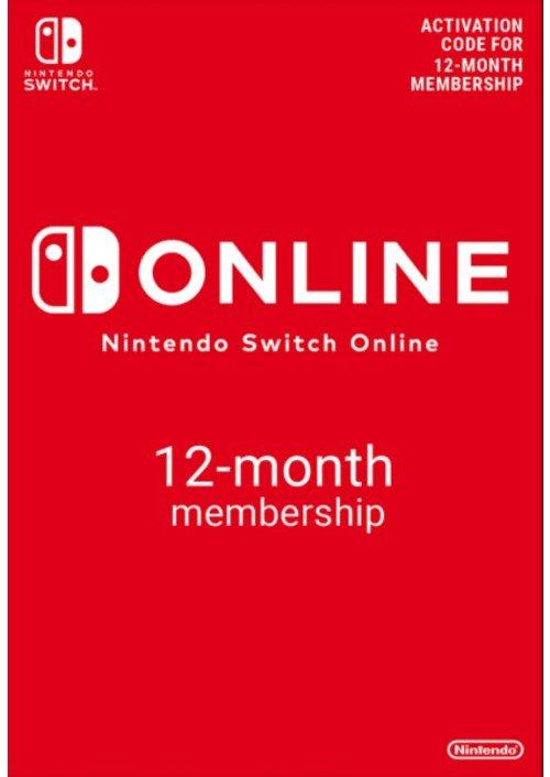 Nintendo Switch Online 12 Monate für 17,85€ (CDkeys)