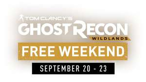 Ghost Recon Wildlands - Free Weekend 20-23. September