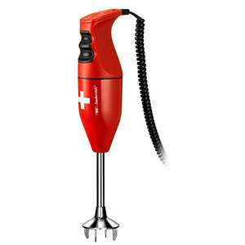 ESGE-Zauberstab E 120 Select, Stabmixer schweiz/rot, bis 10.000 U/Min