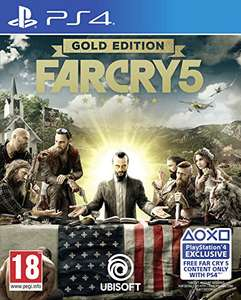 Far Cry 5 Gold Edition (PS4) für 38,11€ (Amazon IT)