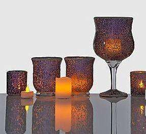 [eBay] Flammenlose Kerzen Zierglas-Set - 40% Ersparnis - allerdings B-Ware