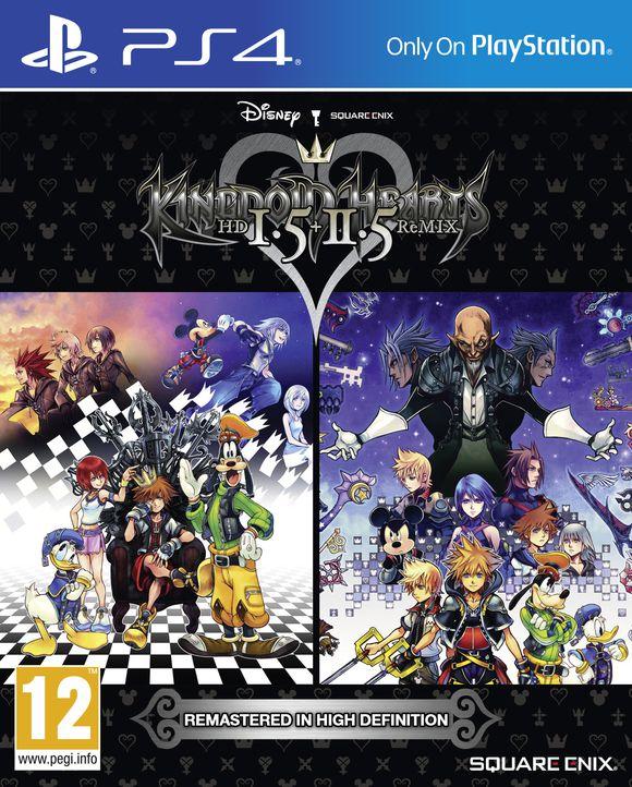 Kingdom Hearts HD 1.5 + 2.5 Remix (PS4) für 20,99€ (Coolshop)