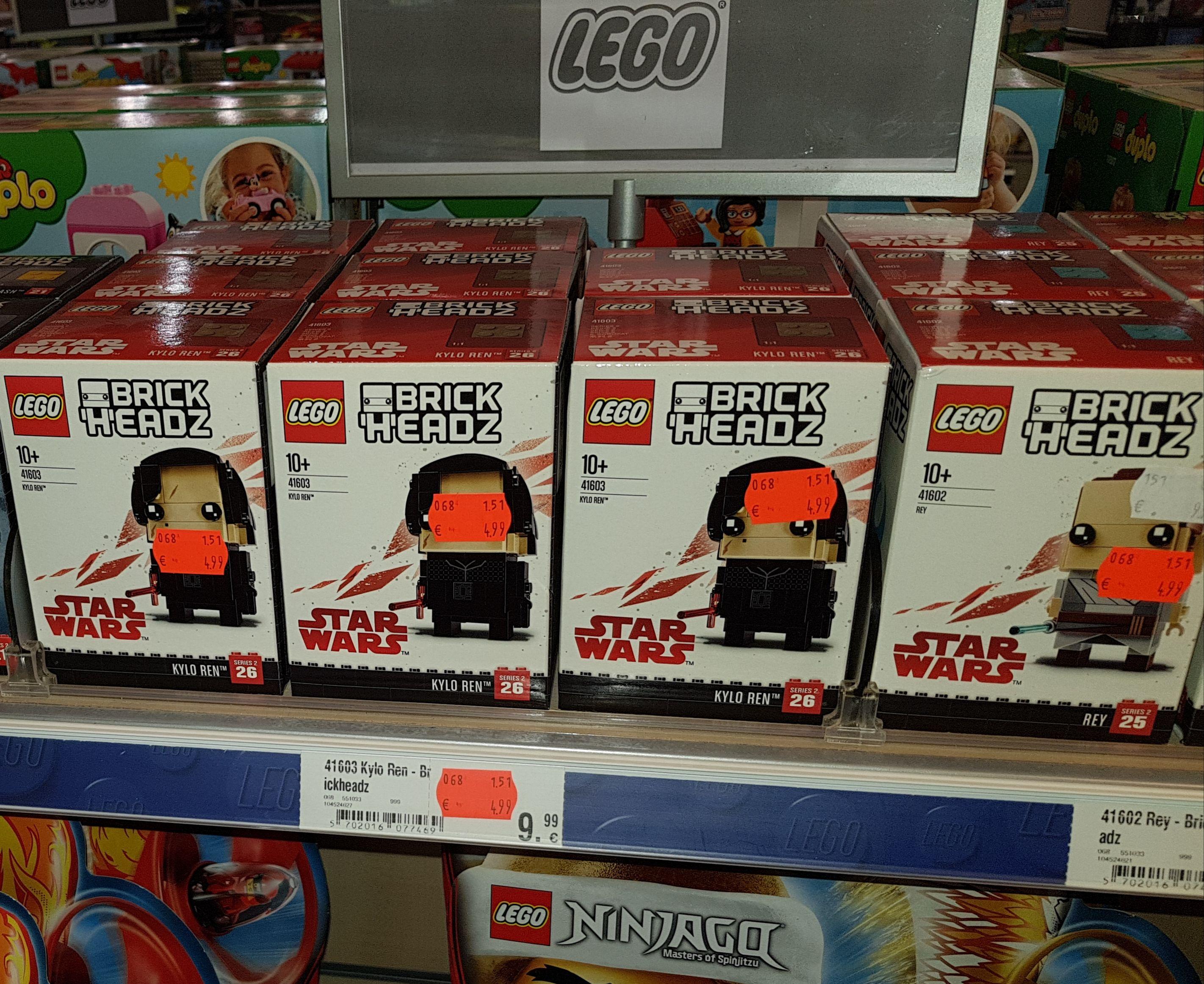 (Lokal) Karstadt Hannover Lego Brickheadz Rey 41062 +Keylo Ren 41063