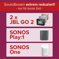 Smart Surf mit 1 GB LTE (o2) + Soundboxen für 3,99€ + Zuzahlung - zB 2x JBL Go 2 für 5€ uvm.