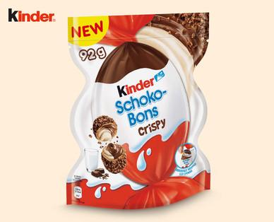 [Lokal Österreich] KINDER Schokobons Crispy (ab 27.9)