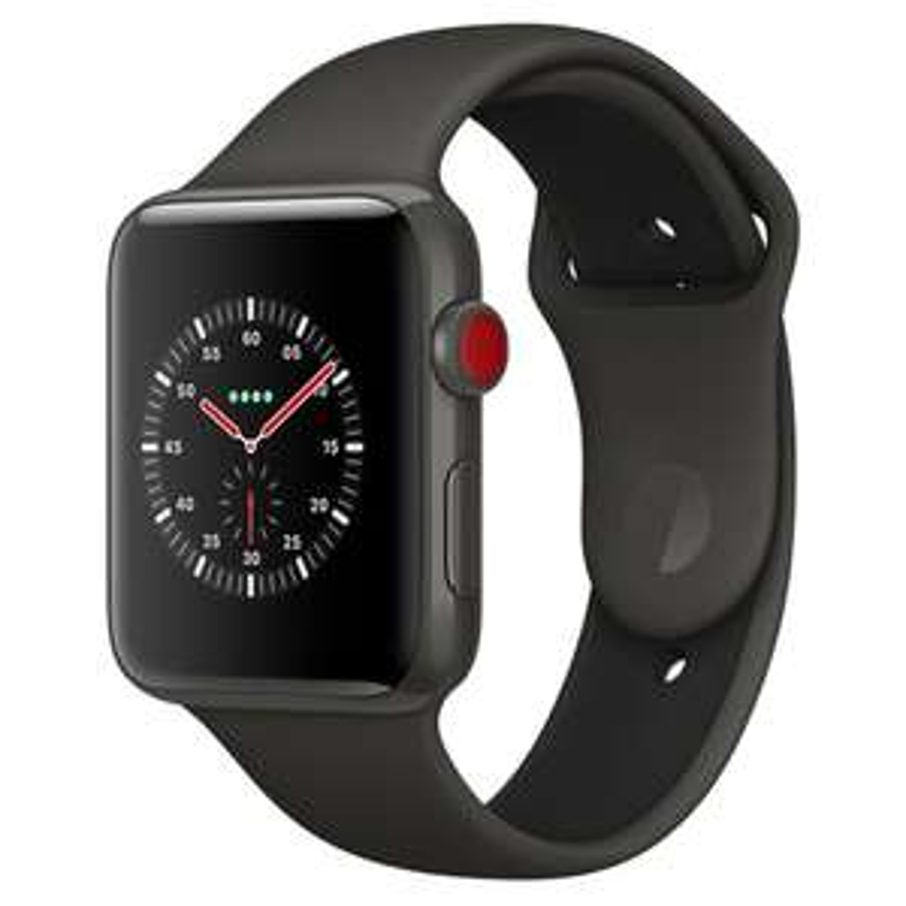 APPLE Watch Edition Series 3, Keramikgehäuse, 42 mm oder 38mm, GPS + Cellular, Space Grau oder Weiß für 950,32€ bei [Manor CH]