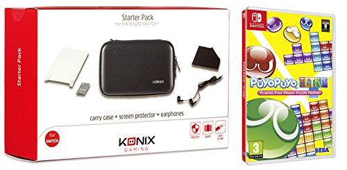 Puyo Puyo Tetris (Switch) + Konix Starter Pack Aufbewahrungs-Case (Schwarz) für 34,09€ (Amazon ES)
