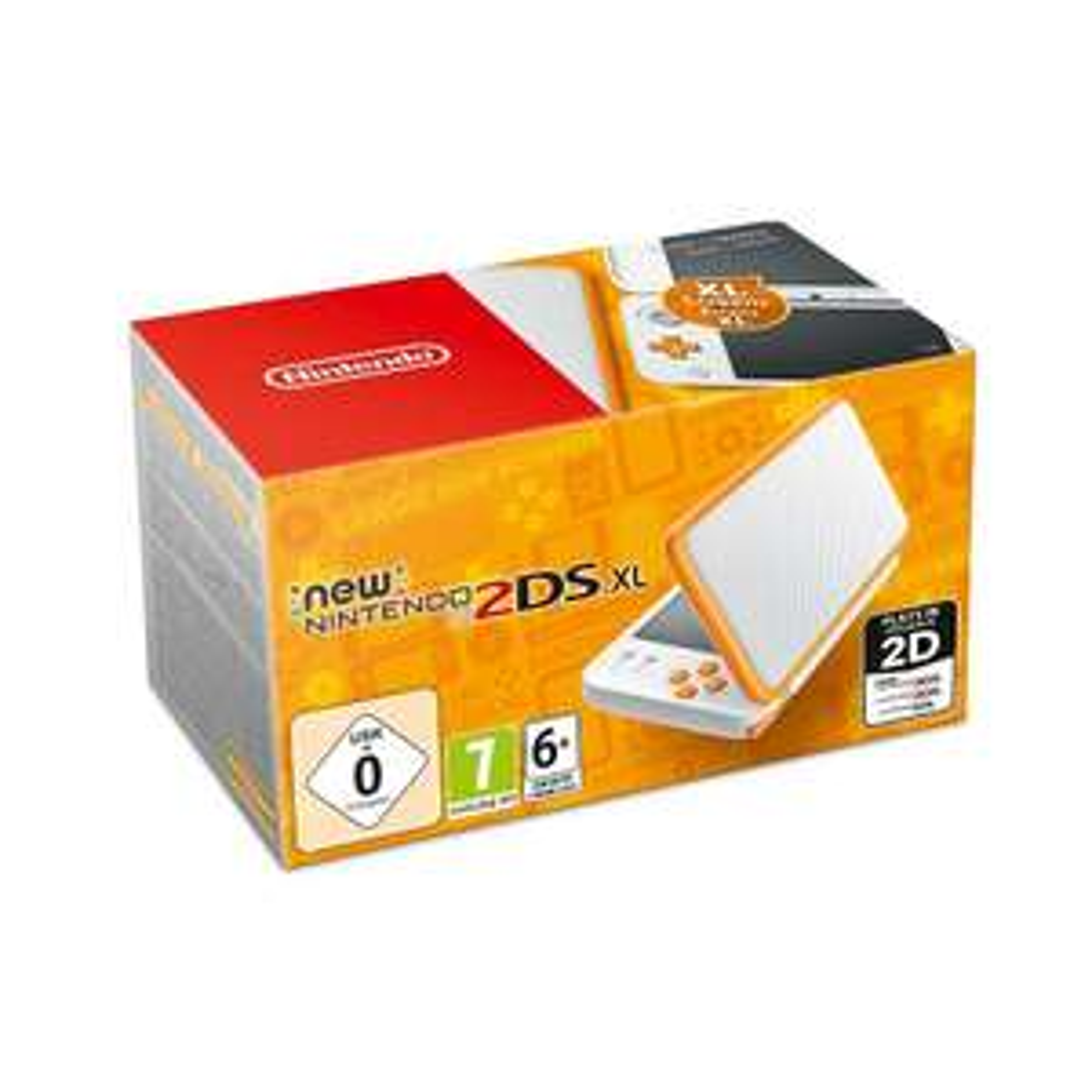 Nintendo New 2DS XLweiß-orange
