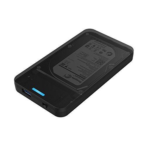 """Amazon.de - Prime Sabrent Festplattengehäuse mit USB 3.0 2.5"""" SATA, SATA II und SATA III + UASP"""